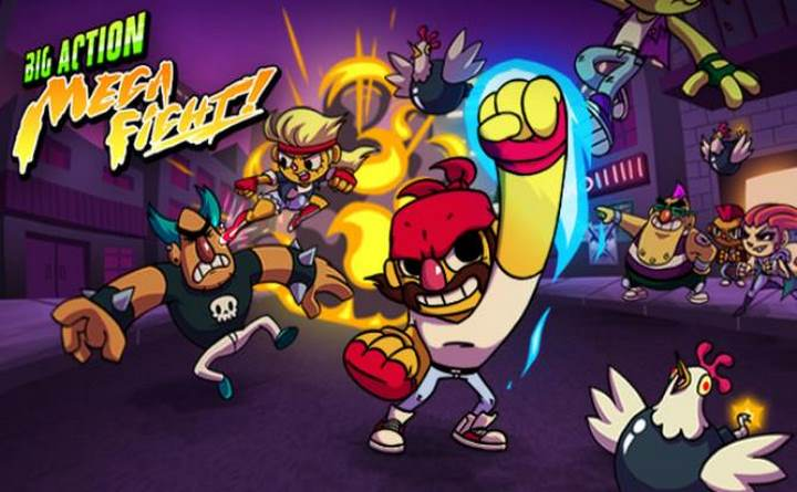 Big Action Mega Fight! Free Download