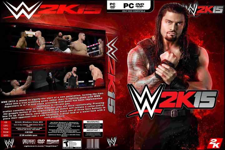 WWE 2K15 Free Download