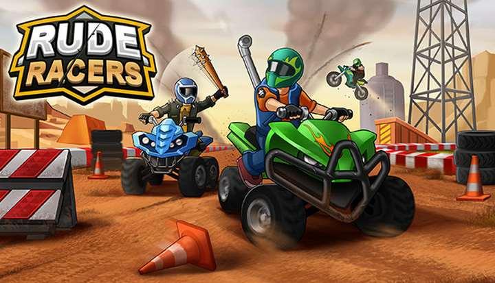 Rude Racers: 2D Combat Racing For Windows [PC]
